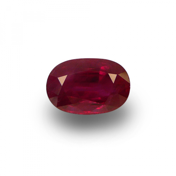 3.27 ct Oval Red Ruby