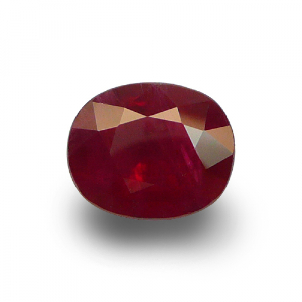 5.39 ct Oval Red Ruby