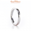 Comfort Fit Flat Wedding Band