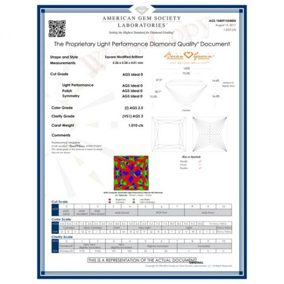 1.010 I VS1 Signature Princess
