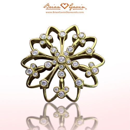 Marguerite 18K Yellow Gold