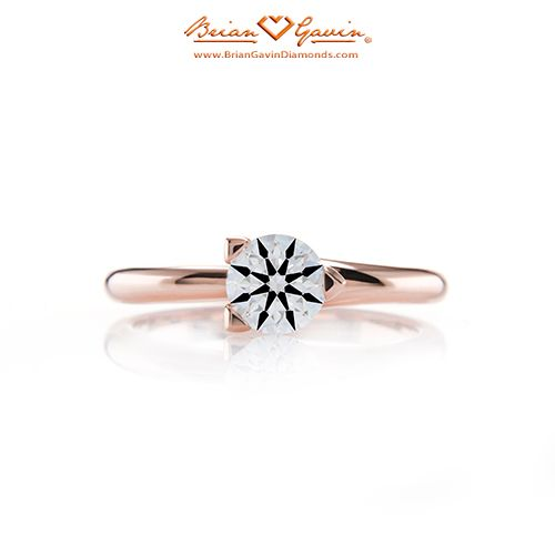 Three Prong Martini Solitaire