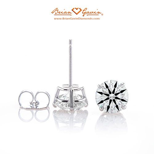 Four Prong Basket Earring