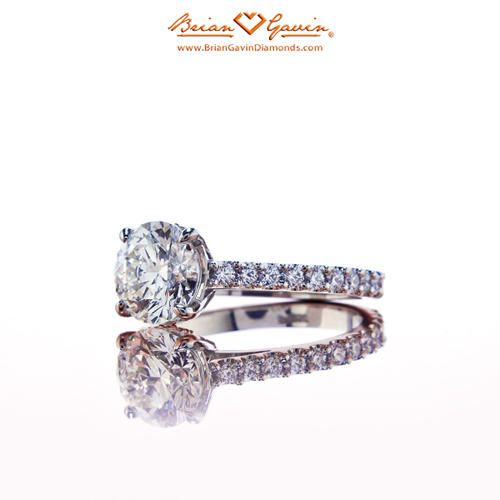 Eternal Grace with Pave 18K White Gold