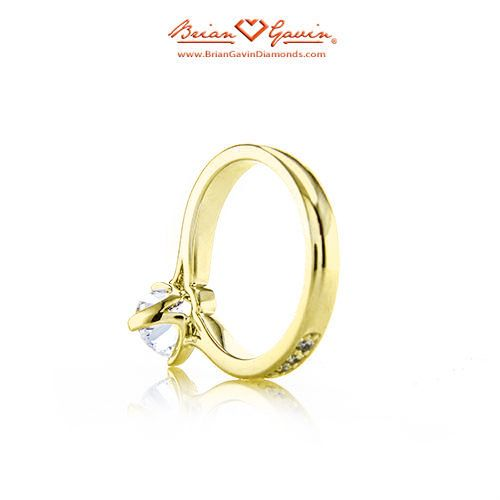 Juno Pave 18K Yellow Gold