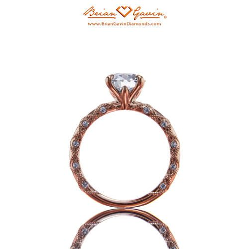 Lace with Diamond 18K Rose Gold