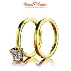 Legera Matching Band 18K Yellow Gold