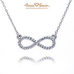 Rope Infinity Inspired Necklace
