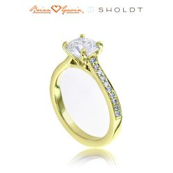 Hannah 18K Yellow Gold
