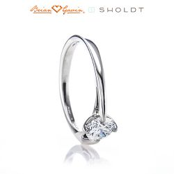 Abby 18K White Gold