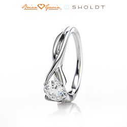 Eliza 14K White Gold