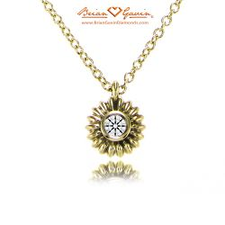Fiorella Pendant 14K Yellow Gold