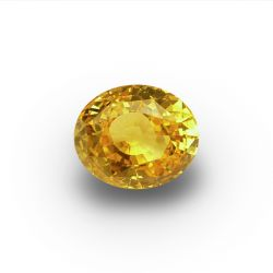 6.36 ct Oval Yellow Sapphire