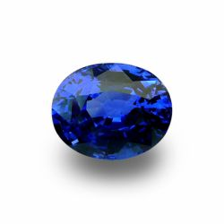 4.68 ct Oval Blue Sapphire