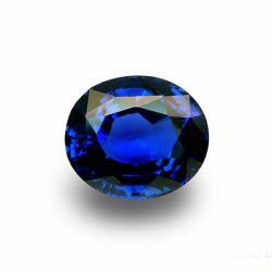 6.68 ct Oval Blue Sapphire