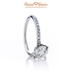 Legera Pave 18K White Gold
