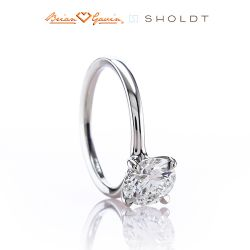 Minnie 14K White Gold