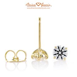 Truth Studs 18K Yellow Gold