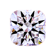 diamond cushion