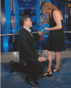 Engagement Proposal on a Cruise Ship