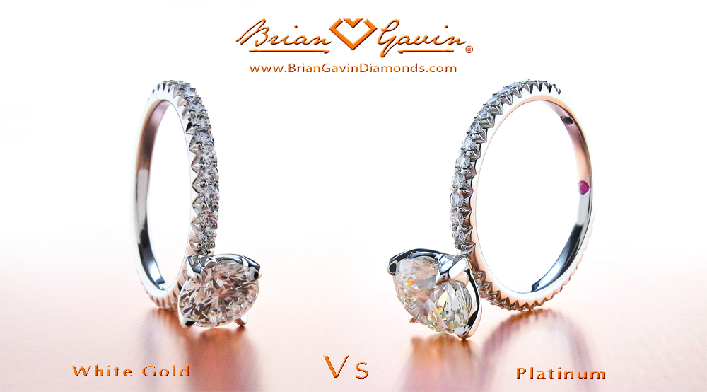 White Gold Vs Platinum Engagement Rings