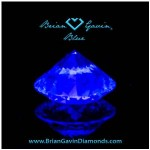 Should I buy an F-color diamond with strong blue fluorescence?