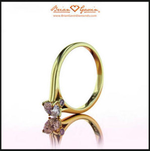 Ashleigh cathedral solitaire engagement ring