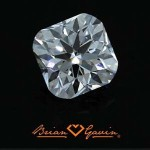 Does Brian Gavin provide actual diamond images?