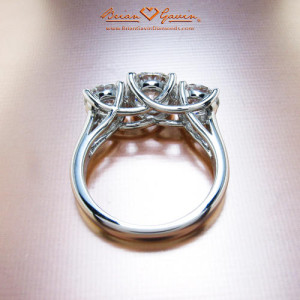 What Ratio Of Center Stone To Accent Diamonds Is Best For