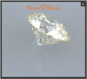 Is an M-color diamond too yellow for engagement ring?