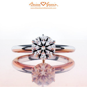 classic Inspired Half Round Solitaire vs Knife Edge Style Solitaire