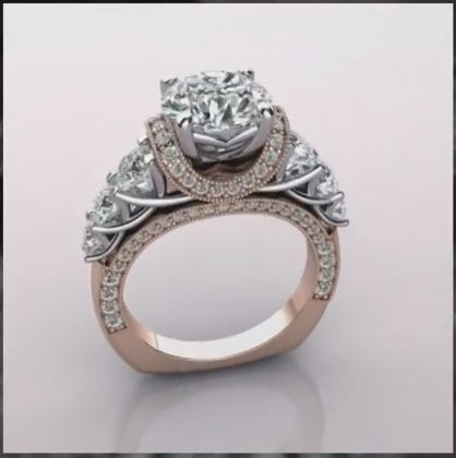 Custom Rose Gold E-Rings By Brian Gavin Youtube Video - Home