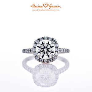 Cost of Anita Halo Engagement Ring