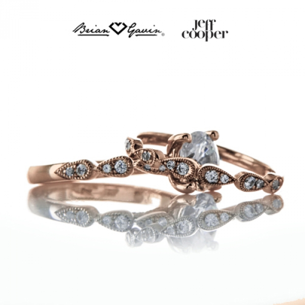 Jeff Cooper Designs Engagement Rings now at Brian Gavin