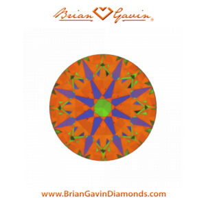 hearts and arrows diamond aset scope image