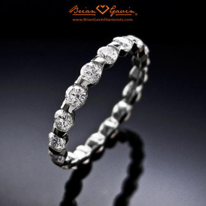 difference between engagement wedding ring half moon eternity - Difference Between Engagement Ring And Wedding Ring