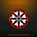 One of a Kind! Eight carat round diamond with hearts and arrows