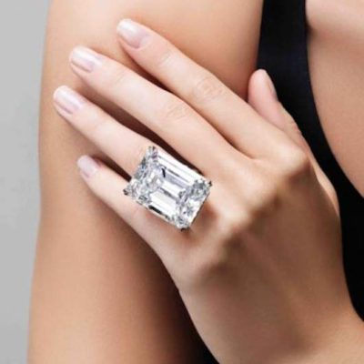 l jewelry diamond carat ring jewellery id sale gia cut emerald platinum cert stone j three rings for