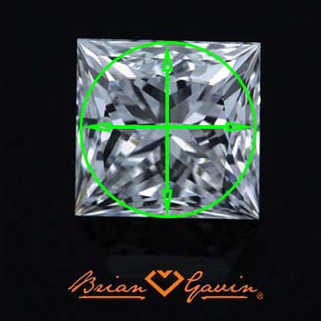 Why is the princess cut more costly than the round diamond cut?