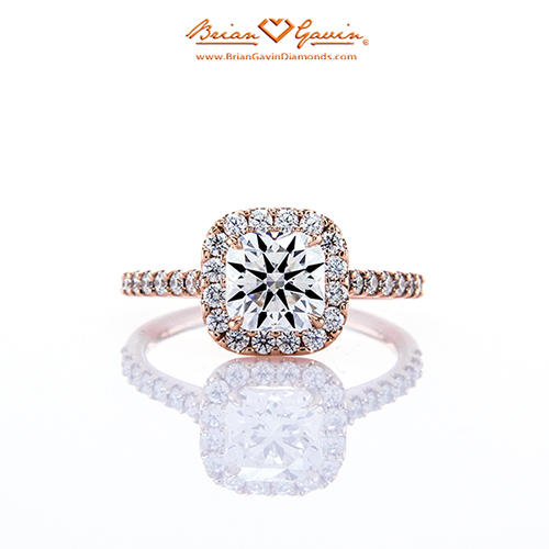 buying engagement ring together anita halo setting rose gold brian gavin