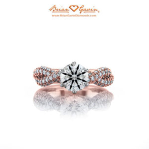 kayla infinity engagement ring brian gavin designs