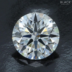 1.065 carat, G-color, VS-1 clarity, Black by Brian Gavin diamond.