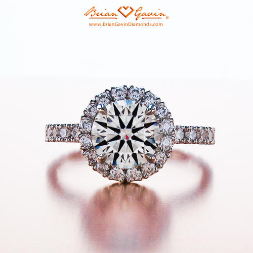 Bigger Diamond Solitaire vs Smaller Diamond Halo Setting