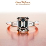 Beautiful and unique ways to add gems to your custom engagement ring