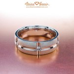 Wedding band trends for him